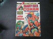 Conan the Barbarian Giant-Size 1, 2, 3, 4 1974 Marvel Comic Very Fine Condition