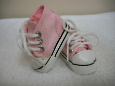 """Fits 13"""" Les Cheries Doll by Corolle - Pink High Top Sneakers - Shoes - D1211"""