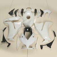 Unpainted White Injection Fairing Kit Bodywork For Honda CBR 1000RR 2012-2016 US