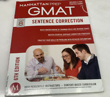 Manhattan Prep GMAT Strategy Guides: Sentence Correction by Manhattan Prep Staff