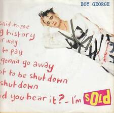 Boy George - Sold/Are You Too Afraid? (Vinyl-Single 1987) !!!
