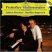 Violin Sonatas 1 and 2 (Kremer/argerich) [european Import] CD (1999) Great Value