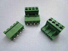 Threaded NOS. 4pcs 4pin USSR Bakelite Point to Point Wiring Terminal Strips