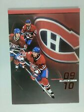 NHL MONTREAL CANADIENS 2009/10 SEASON TICKET FOLDER (no tickets)