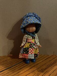 Vintage Knickerbocker The Original Holly Hobbie Doll Play From Set 9874
