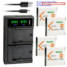 Kastar Battery LTD2 Charger for Sony NP-BN1 BC-CSN & Sony Cyber-shot DSC-W630