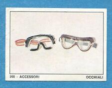 MOTO 2000 - Panini 1972 -Figurina-Sticker n. 200 - ACCESSORI OCCHIALI -Rec