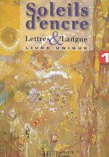 Lettres Et Langues ; Francais ; 1ere (edition 2007) - L Carpentier. LIVRE NEUF