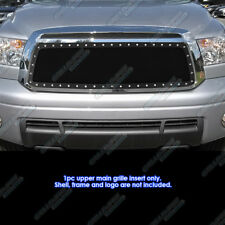 Fits 2010-2013 Toyota Tundra Stainless Black Mesh Grille Grill Insert