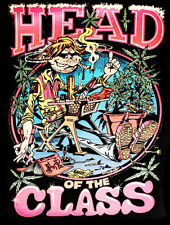 Head of The Class Pot Poster Reproduction Metal Sign FREE SHIPPING Cannabis