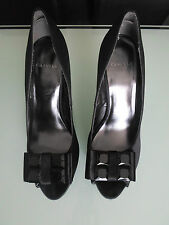 Carvela Women Size 6 Black Peep-toe Heels Platform Shoes