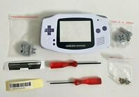 Replacement Housing for Nintendo GBA Game Boy Advance Shell Screen Arctic White