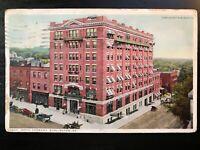 Vintage Postcard>1914>Hotel Vermont>Burlington>Vermont