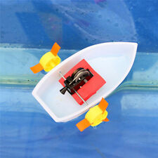 Plastic toy boat ship exploring kid creat science scientific game moddl gift 1pc