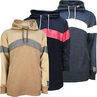 Mens Soulstar Longline Sweatshirt Hoodie Jumper Casual Designer Hooded Top New