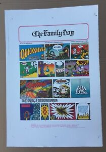 FAMILY DOG MORNIN PAPA ORIGINAL LITHOGRAPH STANLEY MOUSE RICK GRIFFIN PROOF