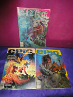 EPIC ILLUSTRATED MARVEL MAGAZINE BARRY SMITH CORBEN 1981 APRIL AUGUST 80s SUMMER