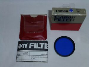 Canon 49mm 80A Filter old stock New