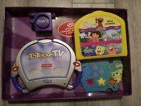 Fisher Price InteracTV DVD Ages 3-7 SpongeBob Dora Elmo free post