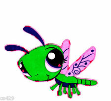 "3.5"" LITTLEST PET SHOP  DRAGONFLY CHARACTER WALL SAFE FABRIC DECAL CUT OUT"