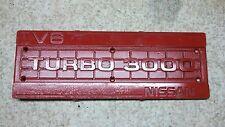 Nissan 300zx turbo engine cover 3000 v6 turbo 84 85 86 87 88 89 vg30