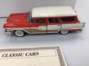 Danbury Mint 1:24 1958 Edsel Bermuda Wagon Die Cast Limited Edition