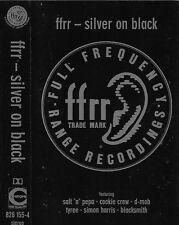 Various FFRR SILVER ON BLACK D-MOB COOKIE CREW CASSETTE ALBUM Acid House Techno