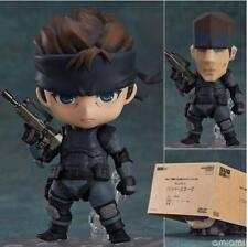 METAL GEAR SOLID SNAKE in PVC Action figure da collezione anime