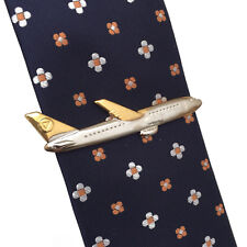 Plane tie clip,airplane tie slide,aircraft tie bar,airliner tie clasp