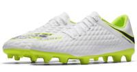 Nike Hypervenom UK Size 5 Junior Football Boots White Moulded Studs