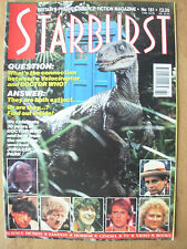 STARBURST MAGAZINE No 181 SEPTEMBER 1993 DOCTOR WHO - JURASSIC PARK