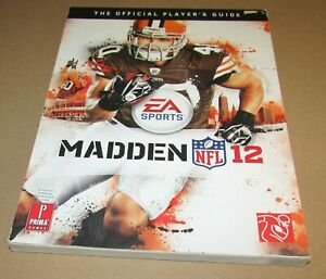 Madden NFL 12 Strategy Guide for Xbox 360 & Playstation 3