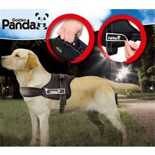 Panda Dog Service Sport Vest Harness with Patches Place for Small to Large Dogs