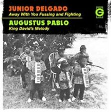 Junior Delgado Away With You Fussing & Fighting UK 7in vinyl NEW sealed