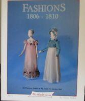 """Miniature Clothing Patterns Book #1 Fit 5 1/2"""" Dolls & Heidi Ott  ( 1806-1810 )"""
