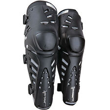 NEW FOX RACING TITAN PRO KNEE/ SHIN GUARDS BLACK BLK ADULT SIZE