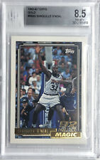 1992-93 Topps Gold RC Shaquille O'Neal Parallel BGS 8.5 NrMt-Mint+ Shaq  Rookie