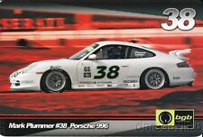 2005 Mark Plummer bgb Racing Porsche 996 Grand Am Cup postcard