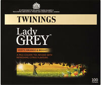 Twinings Lady Grey 100 Btl. Original englische Version Tea Tee