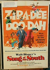 ORIGINAL MOVIE POSTER SONG OF THE SOUTH 1sh R73 Walt Disney