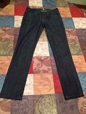 Women's 7 For All Mankind Roxanne Straight Leg Jeans Good Condition Size 25 X 28
