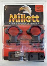 "Millett Steel Winchester 70 1"" High Rings & Base set #CP71211"
