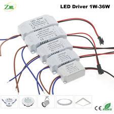 LED Driver transformador de fuente de alimentación 1W-36W AC85-265V a DC3V-12V
