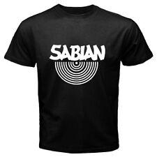 Sabian Drum Music Instrument Band Logo T-Shirt Men or Women