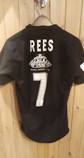 Wasps Rugby Shirt Match Worn Rees