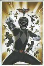 MIGHTY MORPHIN POWER RANGERS #30 1:25 BLACK RANGER VIRGIN VARIANT MMPR NM 2018