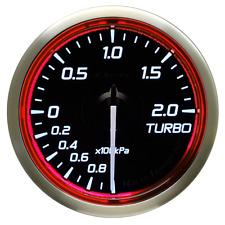 Defi Racer RG N2 60mm Turbo Gauges RED