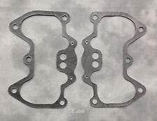 2x GASKETS rocker box Carbon Fibre, 750cc Triumph Bonneville T140 TR7.  71-2599