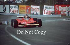 Gilles Villeneuve Ferrari USA East GP 1979 Photograph