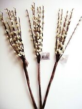 "3 Pieces Cream / Ivory Pip Berry Picks Stems 12"" off white floral decor Bush"